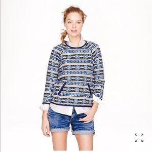 • J. Crew Collection • Floral Popover Sweatshirt 4